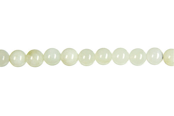 New Jade Round (Light) Beads