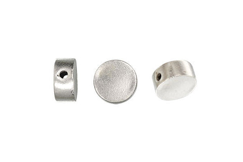 Hill Tribe Silver Round Bead, 5.0x11.0mm