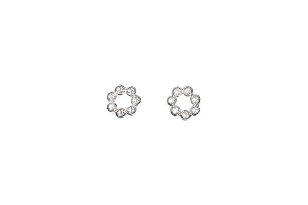 Sterling Silver Septa Daisy Spacer, 5.0x1.5mm