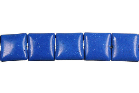 Lapis (Dyed) Square Beads