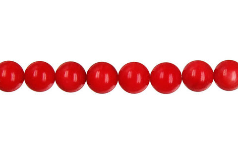 Coral (Red) Round Beads