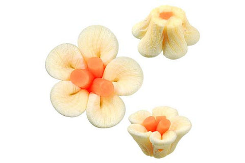 Pendant Poly Clay Flower (Yellow 108)
