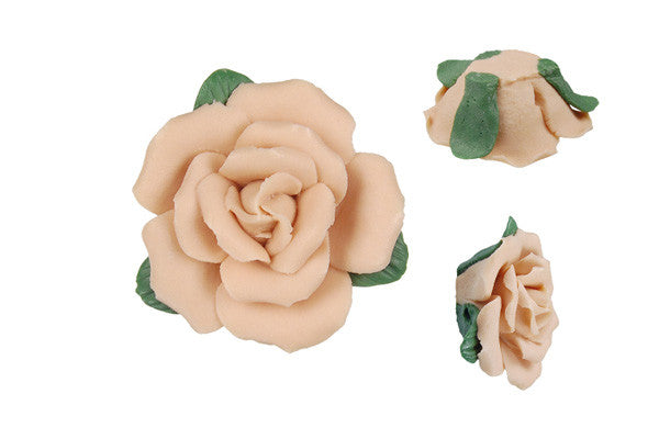Pendant Poly Clay Flower (Peach 305)
