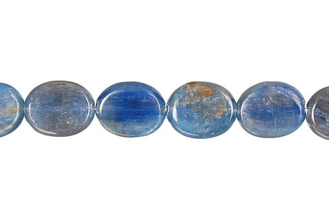 Kyanite Flat Oval (A) Beads