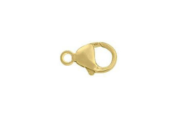 Gold-Filled Oval Trigger Clasp, 7.0x13.0mm