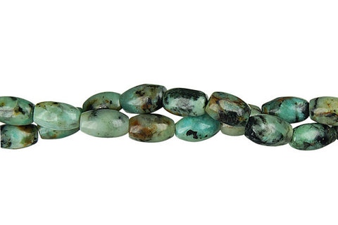 African Turquoise Rice Beads