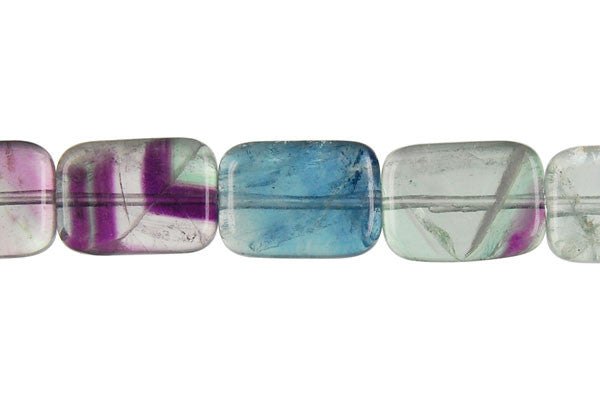 Fluorite (AA) Flat Rectangle Beads
