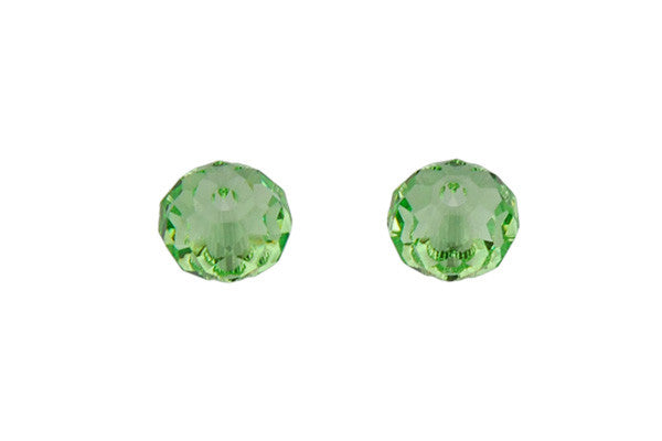 Swarovski Crystal Faceted Rondelle (5040) Peridot