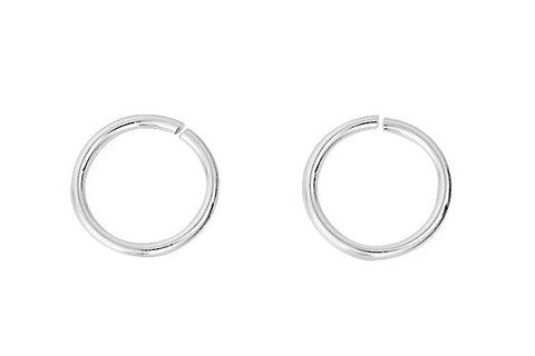 Sterling Silver 8.0mm Jump Ring, 22-Gauge