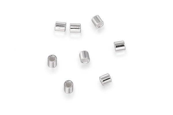 Sterling Silver Crimp, 2.0x2.0mm