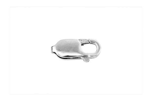 Sterling Silver Lobster Claw Clasp, 4.5x12.0mm