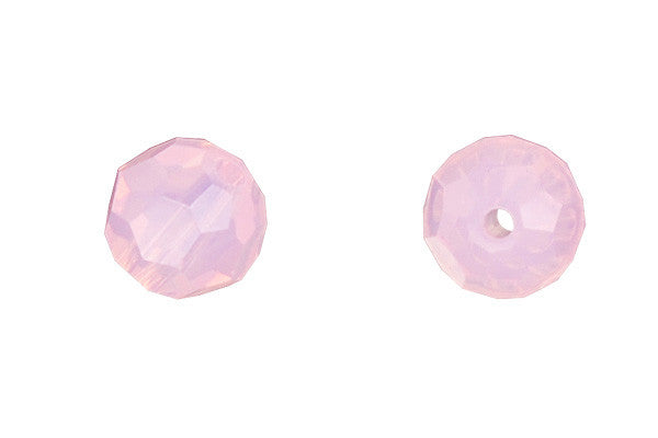 Swarovski Crystal Faceted Round (5000) Rose Water Opal