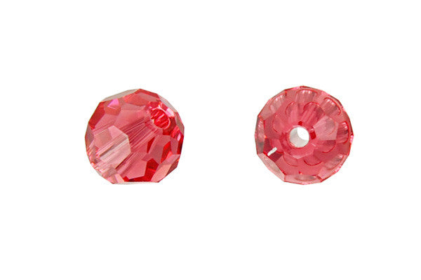 Swarovski Crystal Faceted Round (5000) Padparadscha