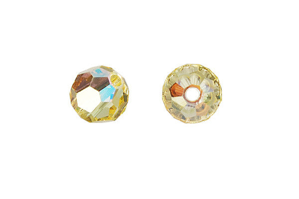 Swarovski Crystal Faceted Round (5000) Jonquil (AB)
