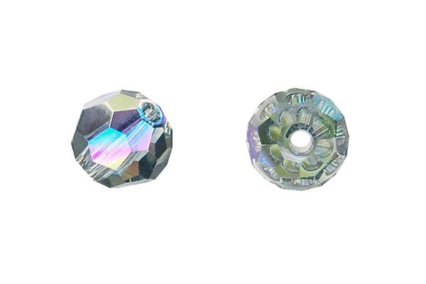 Swarovski Crystal Faceted Round (5000) Indian Sapphire (AB2X)