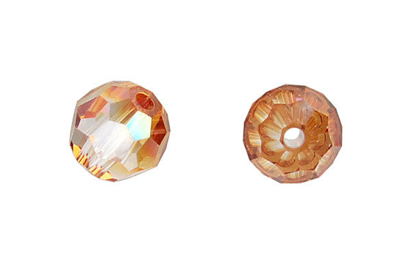 Swarovski Crystal Faceted Round (5000) Crystal (Copper)