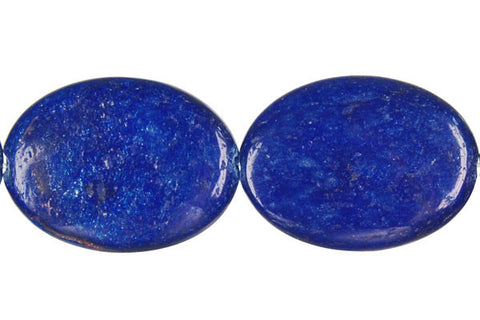 Blue Aventurine Flat Oval (A) Beads