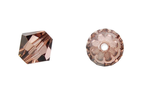 Swarovski Crystal Bicone (5301) Light Peach (Satin)