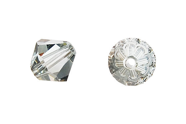 Swarovski Crystal Bicone (5301) Light Azore (Satin)