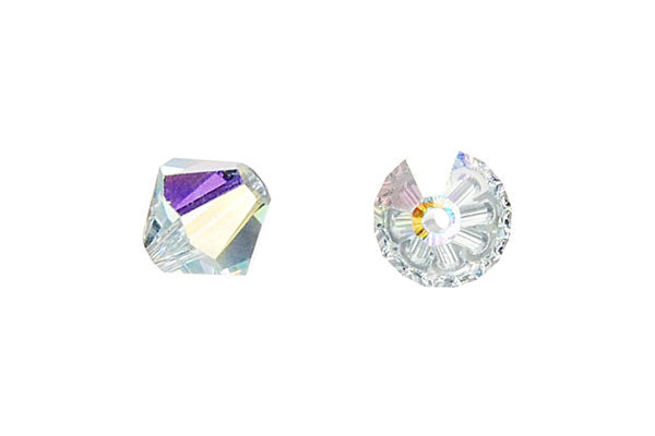Swarovski Crystal Bicone (5301) Light Azore (AB)