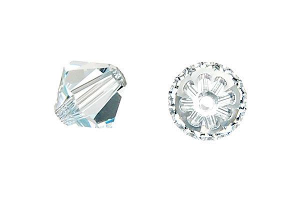 Swarovski Crystal Bicone (5301) Light Azore
