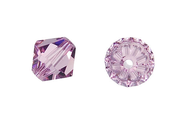 Swarovski Crystal Bicone (5301) Light Amethyst
