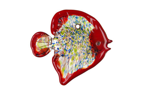 Pendant Murano Foil Glass Fish (F51)