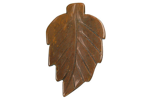 Pendant Fancy Jasper Leaf