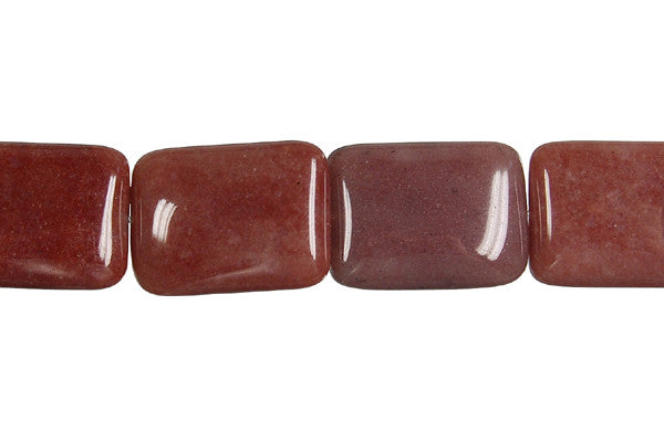 Chocolate Aventurine Rectangle Beads