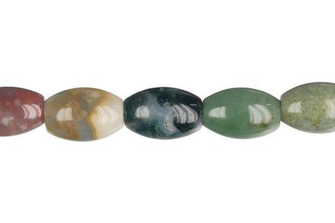 Fancy Jasper Drum Beads