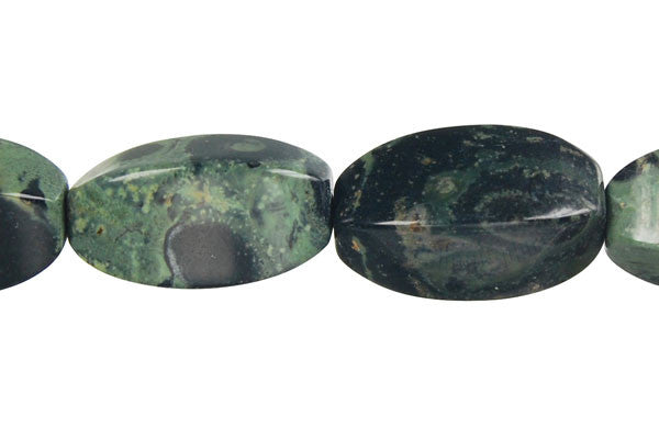 Kambaba Jasper Square Rice Beads