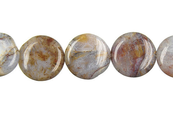 Pietersite Button Beads