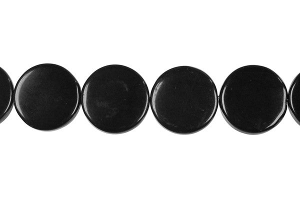Black Swan Coin Beads