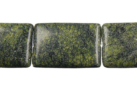 Russian Serpentine Flat Rectangle Beads