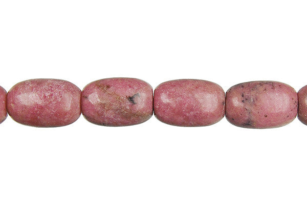 Rhodonite Drum Beads