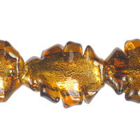 Murano (Amber) Twisted Leaf