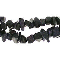 Blue Stone Chips Beads