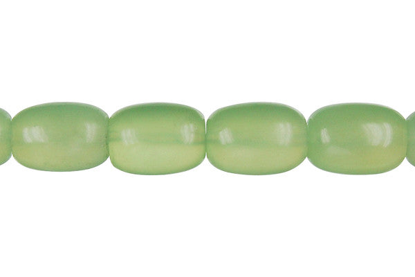 New Jade Drum Beads