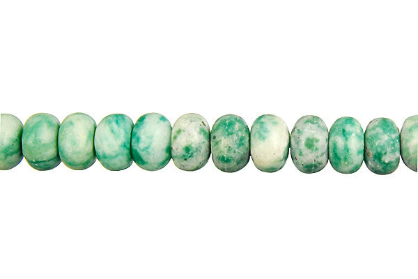 Tree Agate Rondelle Beads