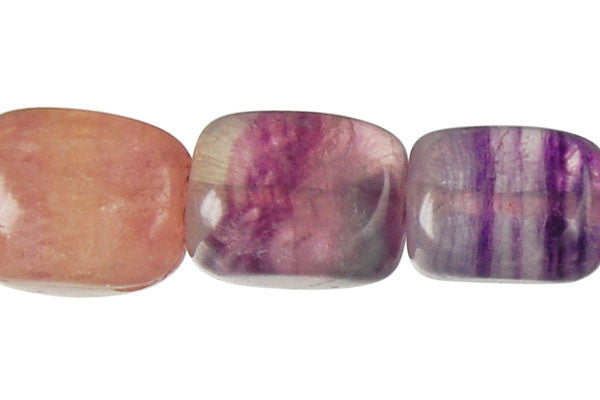 Fluorite Smooth Nugget Beads