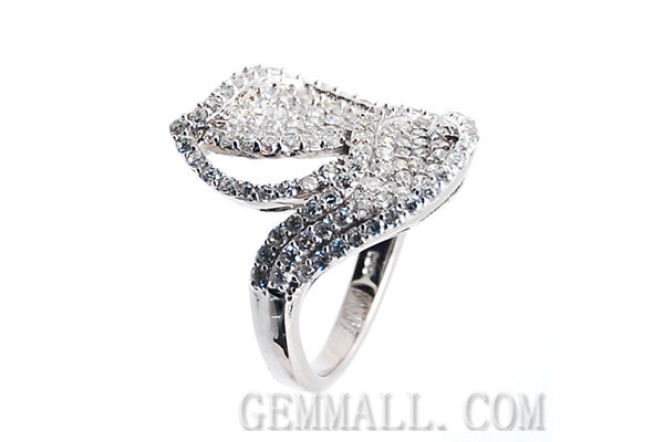 Sterling Silver CZ Paved Ring Style (rha0003)
