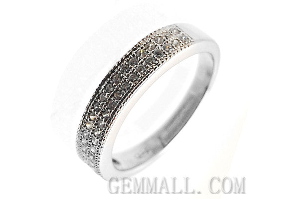 Sterling Silver CZ Paved Ring Style (rha0005)