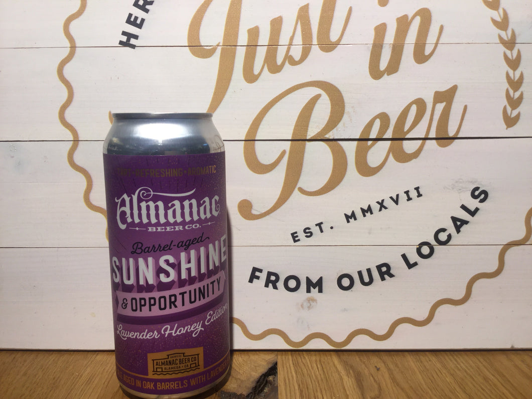 Sunshine & Opportunity Lavender Honey Edition