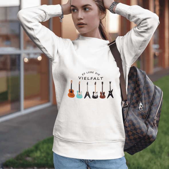 Sweatshirt Celebrate diversity Damen