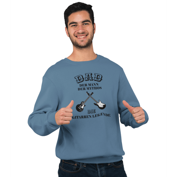 Sweatshirt Crossed Guitars Herren