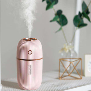 Open image in slideshow, Effect Ultrasonic H2O Humidifier - Portable Ultrasonic Humidifier