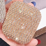 Bling Luxury Silicone Case Cover for Apple Airpods 1 + 2 Protective Cover
