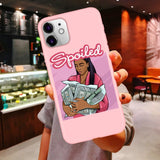 Boss Lady Illustrated Phone Case Series 2 For iPhone 11 Pro Max X XR XS 6 Plus 6s Plus 7 8 Plus SE