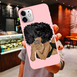 Boss Lady Illustrated Phone Case Series 1 For iPhone 11 Pro Max X XR XS 6 Plus 6s Plus 7 8 Plus SE