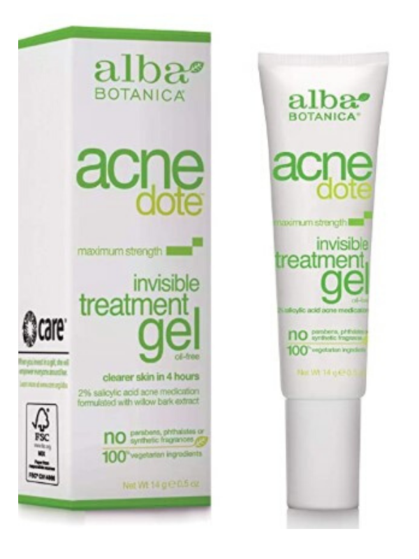 Alba Botanica ACNEdote Invisible Treatment Gel, 14 g
